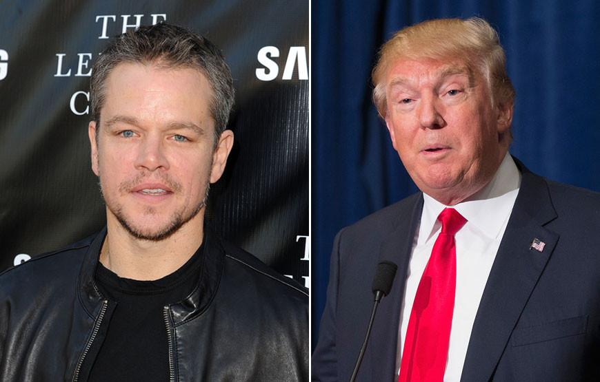Matt Damon e Donald Trump.jpg