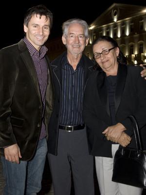 Murilo Rosa aproveita visita a Lisboa para passear com os pais