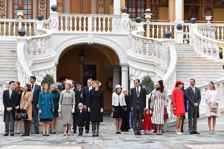 Carolina de Mónaco reúne a su familia en el Día Nacional de