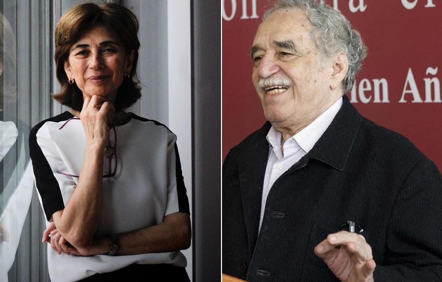 Pilar del Rio reage e Gabriel García Marquez.jpg