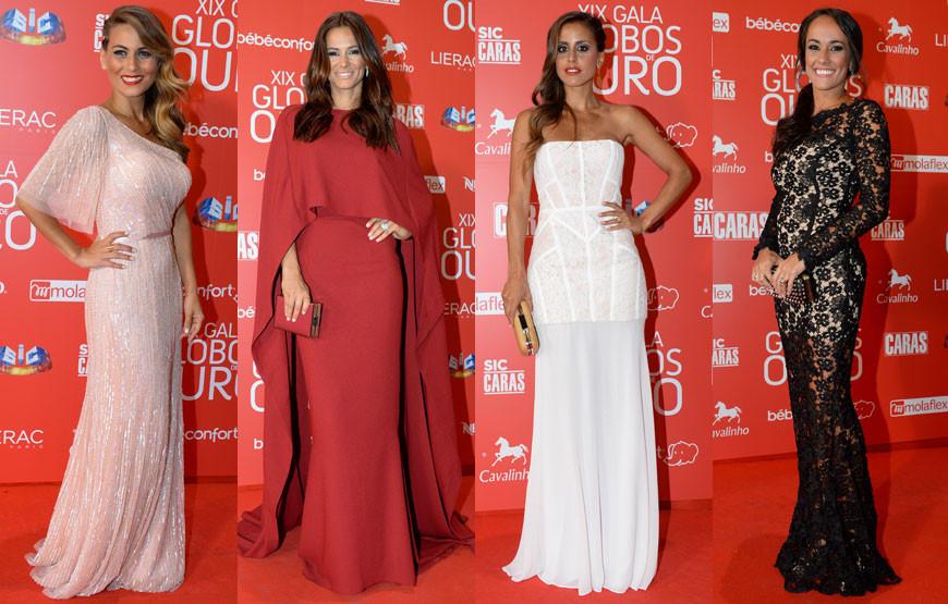 Caras | Desfile de famosos na Gala dos Globos de Ouro