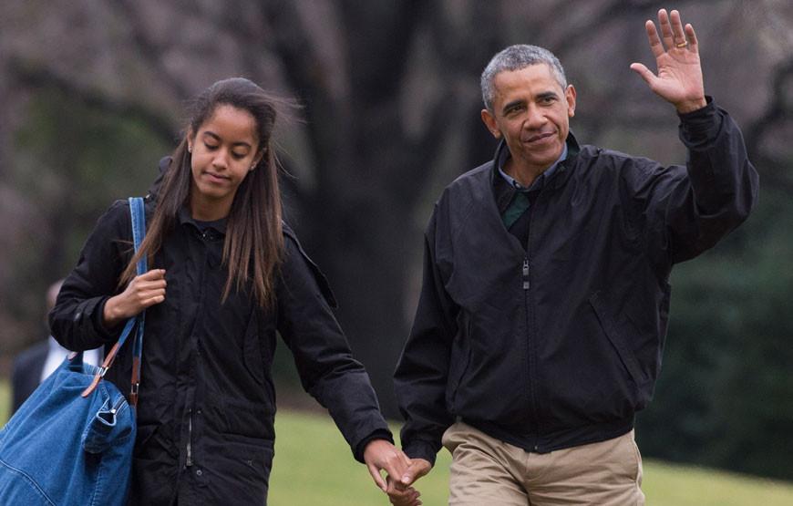 Barack Obama com a filha mais velha, Malia.jpg