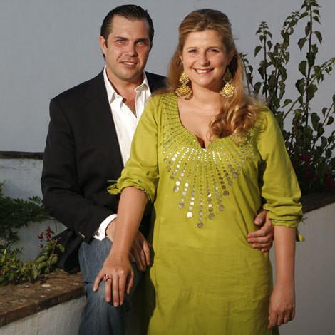 Charles-Philippe d'Orleans e Diana de Cadaval