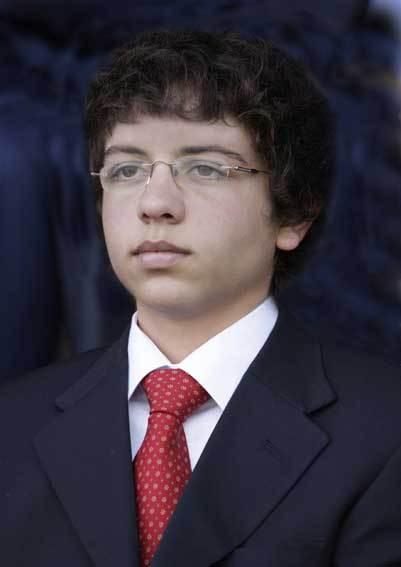 O príncipe Hussein da Jordânia