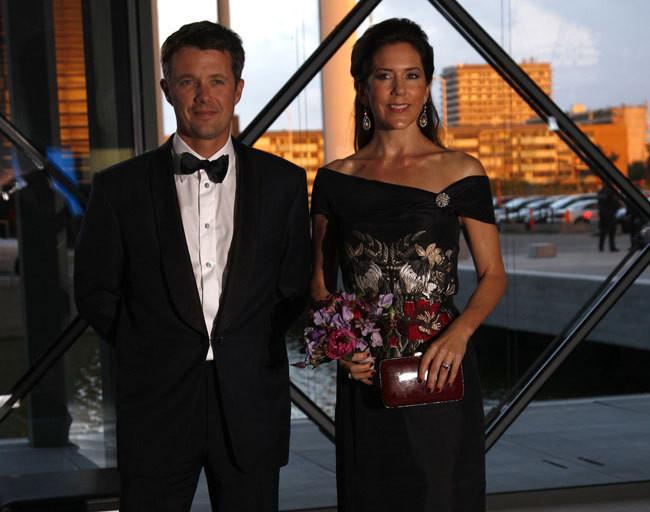 Frederico e Mary da Dinamarca