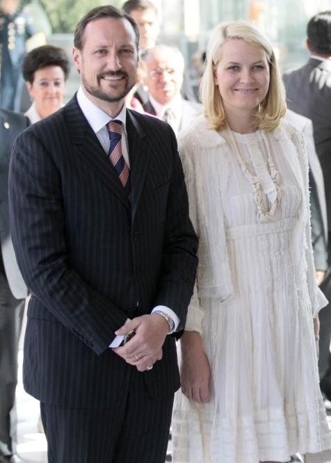 Haakon e Mette-Marit da Noruega