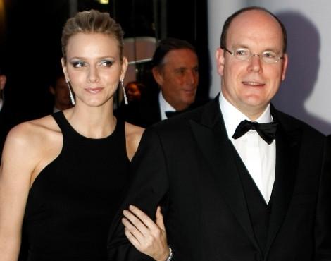 Charlene Wittstock e o príncipe Alberto do Mónaco