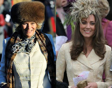 Camilla Parker-Bowles e Kate Middleton