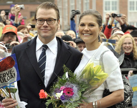 Daniel e Victoria da Suécia