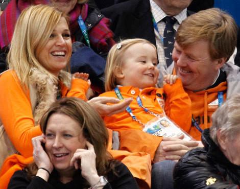 Família real da Holanda nos Jogos Olímpicos de Inverno