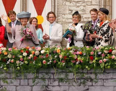 Família real da Holanda celebra Dia da Rainha