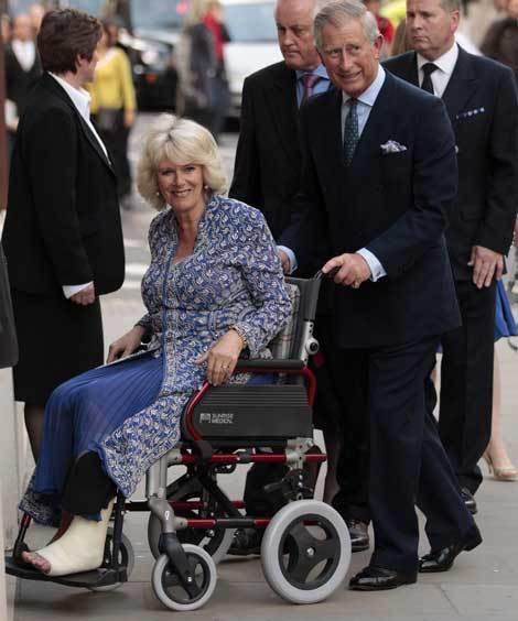 Príncipe Carlos com a mulher, Camilla