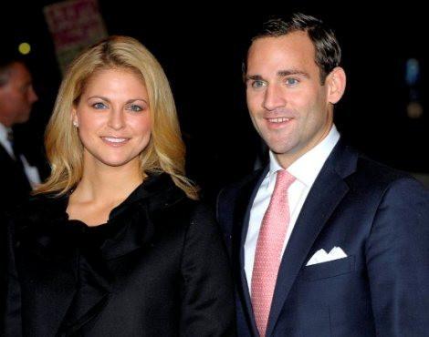 A princesa Madalena e Jonas Bergström