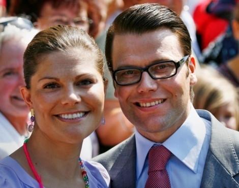 Victoria da Suécia e Daniel Westling