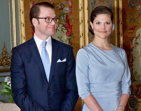Daniel Westling e Victória da Suécia