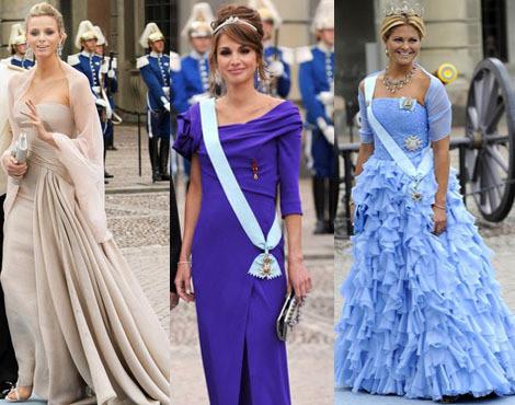 As Mais Elegantes do casamento de Victoria da Suécia