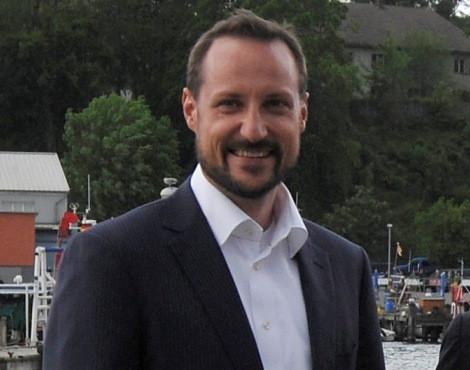 O príncipe Haakon da Noruega