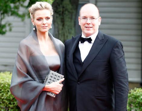 Charlene Wittstock e Alberto do Mónaco