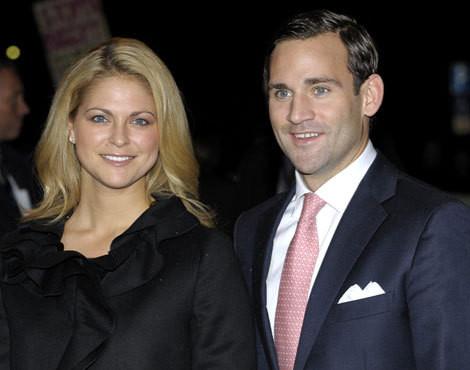 A princesa Madalena da Suécia e Jonas Bergström