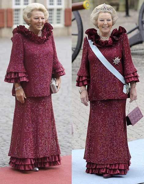 A rainha Beatriz da Holanda