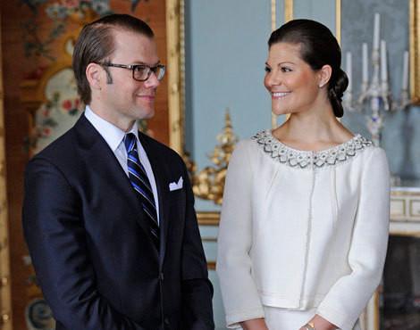 Daniel Westling e Victoria da Suécia
