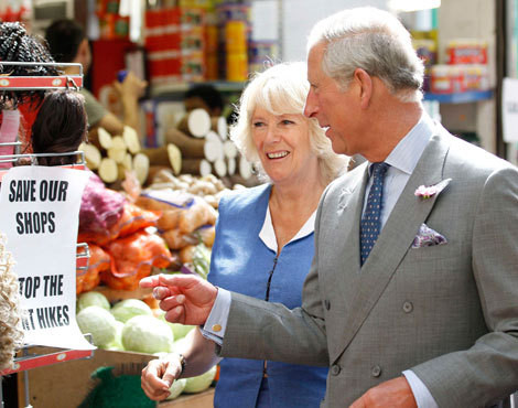 Príncipe Carlos e Camilla Parker-Bowles