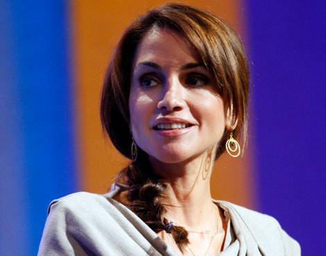 Rania da Jordânia durante o encontro anual Iniciativa Global Clinton, que decorreu na semana passada, em Nova Iorque