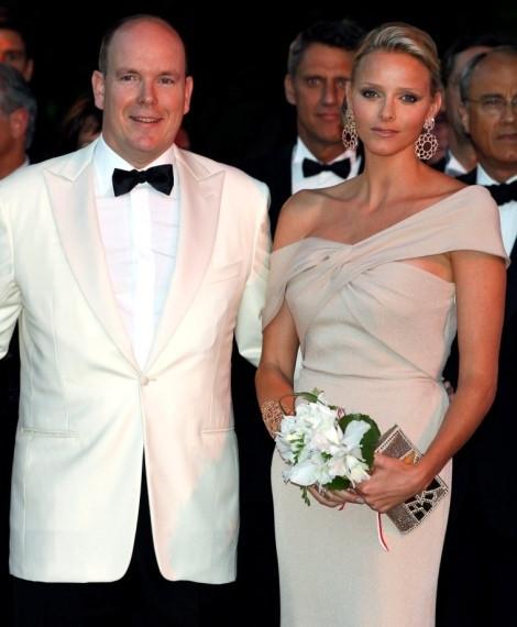 O príncipe Alberto do Mónaco e a noiva, Charlene Wittstock