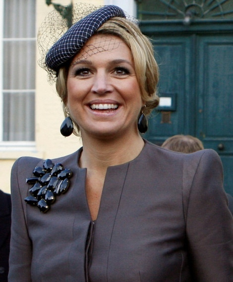 A princesa Máxima da Holanda