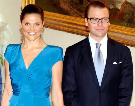 Victoria e Daniel da Suécia