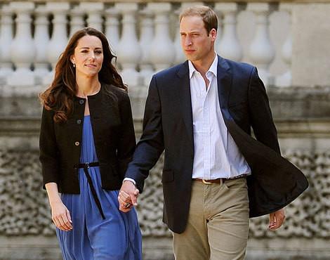 Os duques de Cambridge