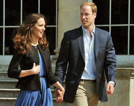 Os duques de Cambridge, Catherine e William