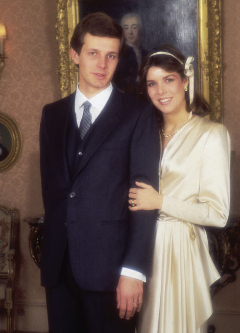 O casamento de Carolina com Philippe Junot só durou dois anos