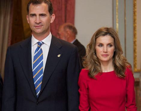 Felipe e Letizia de Espanha