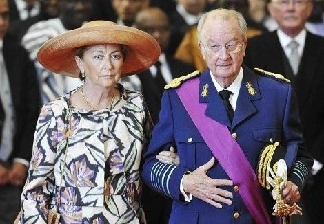 Paola e Alberto da Bélgica
