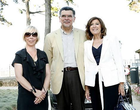 Eduarda Abbondanza com António e Madalena Capucho