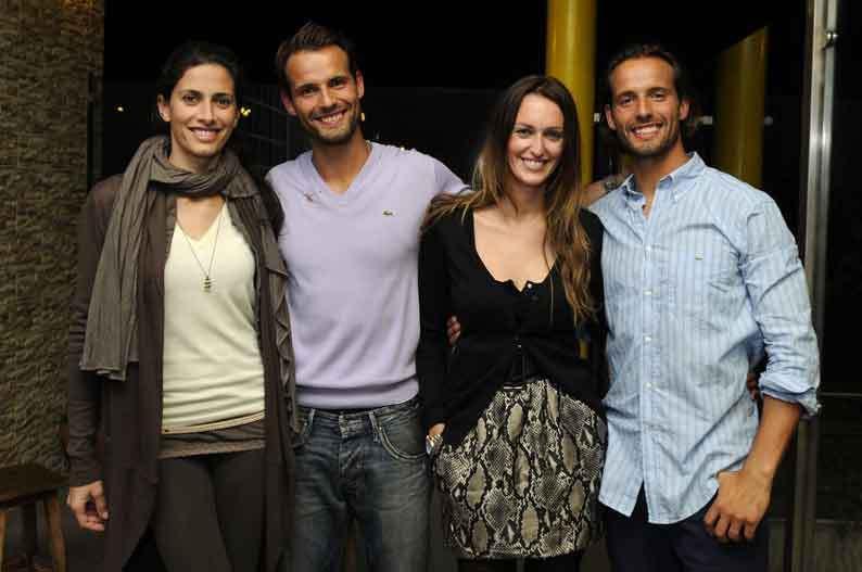 Telma Santos, Pedro Guedes, Débora Montenegro e Ricardo Guedes