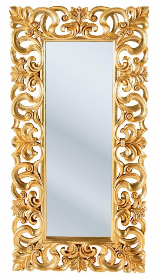 Italian Baroque Gold, com moldura em MDF, mede 180x90cm, na Kare Design.