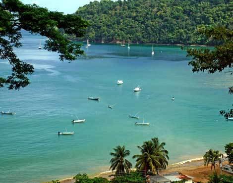 Tobago é perfeito para o mergulho