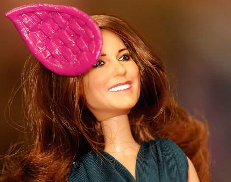Boneca inspirada em Kate Middleton