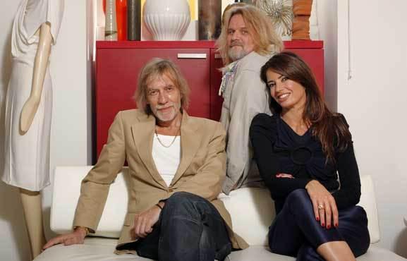 Bárbara Guimarães e a dupla Alves/Gonçalves