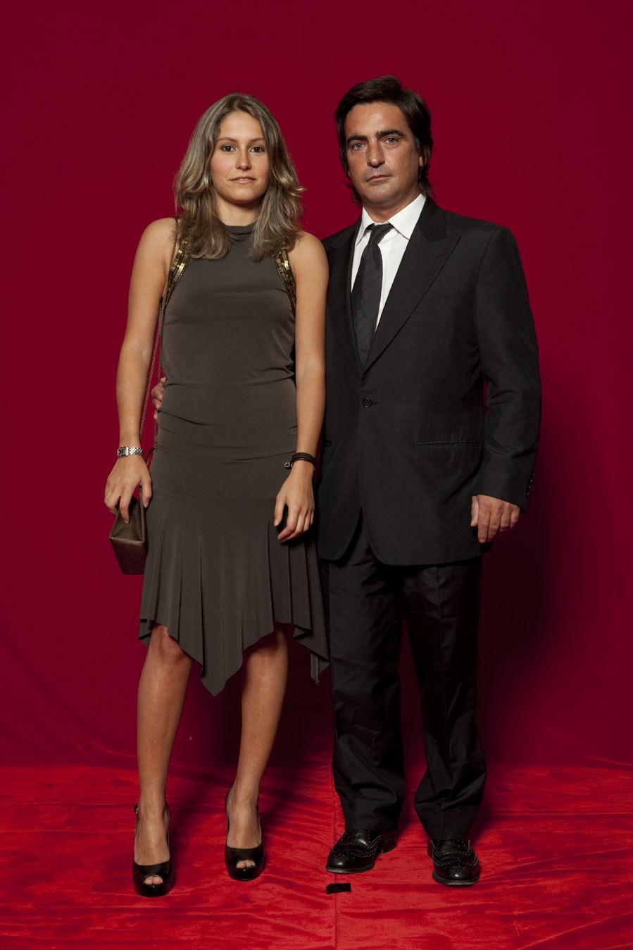 Camané e Mariana Maurício na XIV Gala dos Globos de Ouro