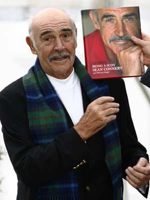 Sean Connery lança autobiografia