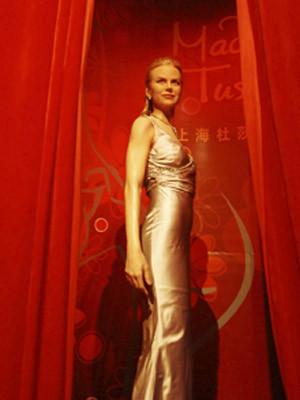 Nicole Kidman também já tem réplica no Madame Tussauds de Xangai