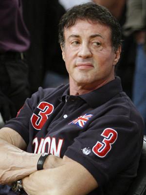Sylvester Stallone de férias em Roma