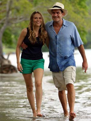 Charlie Sheen e Brooke Mueller: Lua-de-mel na Costa Rica