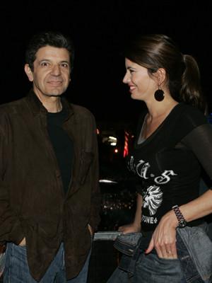 Manuel Maria Carrilho e Bárbara Guimarães namoram no Rock in Rio