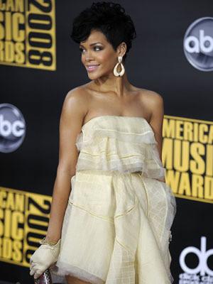 A cantora nos America Music Awards 2008
