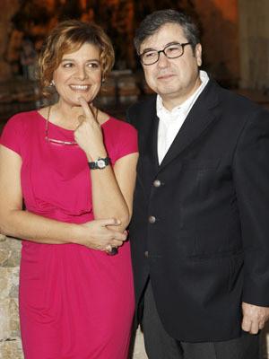 Júlia Pinheiro e Rui Pêgo