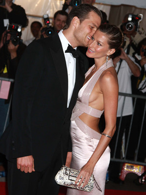 Gisele Bündchen e Tom Brady subiram ao altar